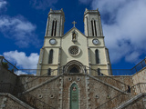 Cathedral St. Joseph, Noumea, New Caledonia, Melanesia, South Pacific, Pacific Photographic Print by Michael Runkel