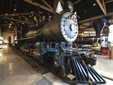 Steam Locomotive, Nevada State Railroad Museum, Carson City, Nevada, USA, North America Photographic Print by Michael DeFreitas