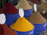 Colourful Spices, Marrakesh, Morocco, North Africa, Africa Photographic Print by Frank Fell