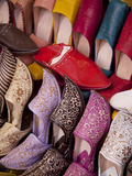 Colourful Slippers, Marrakesh, Morocco, North Africa, Africa Photographic Print by Frank Fell
