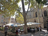 Street Cafes in the Old City of Avignon, Vaucluse, Provence, France, Europe Photographic Print by David Lomax