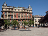 Plaza del Castillo, Pamplona Iruna Navarre, Spain Photographic Print by Phil Clarke-Hill