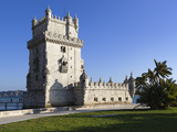 Torre de Belem, UNESCO World Heritage Site, Belem, Lisbon, Portugal, Europe Photographic Print by Stuart Black