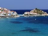 Kokkari, Samos, Aegean Islands, Greece Fotografisk tryk af Stuart Black