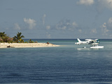 Boat Plane Off West Coast of Viti Levu, Fiji, Pacific Islands, Pacific Photographic Print by Matthew Frost