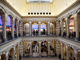 Interior, Magna Plaza Shopping Centre, Amsterdam, Holland, Europe Photographic Print by Frank Fell