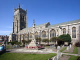 Church of St. Peter and St. Paul at Cromer, Norfolk, England, United Kingdom, Europe Photographic Print by Mark Sunderland