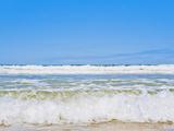 Tropical Paradise of Seventy Five Mile Beach, Fraser Island, UNESCO World Heritage Site, Australia Fotografisk trykk av Matthew Williams-Ellis