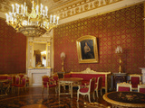 Red Parlour, Yusupov Palace, St. Petersburg, Russia, Europe Photographic Print by Rolf Richardson
