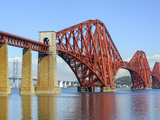 Forth Rail Bridge over the Firth of Forth, South Queensferry Near Edinburgh, Lothian, Scotland Photographic Print by Chris Hepburn
