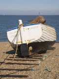 Fishing Boat on the Beach at Dunwich, Suffolk, England, United Kingdom, Europe Photographic Print by Ian Murray