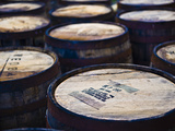 Jura Whisky Distillery Barrel Storage, Jura Island, Inner Hebrides, Scotland, UK, Europe Photographic Print by Andrew Stewart