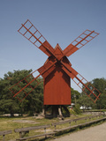 Oland Windmill, Skansen, Stockholm, Sweden, Scandinavia, Europe Photographic Print by Rolf Richardson