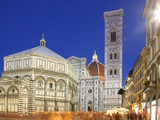 Cathedral (Duomo), Florence, UNESCO World Heritage Site, Tuscany, Italy, Europe Photographic Print by Vincenzo Lombardo