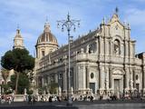Duomo, Catania, Sicily, Italy, Europe Photographic Print by Vincenzo Lombardo