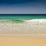 Small Wave, Los Lances Beach, Tarifa, Andalucia, Spain, Europe Photographic Print by Giles Bracher