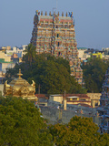 Sri Meenakshi Temple, Madurai, Tamil Nadu, India, Asia Photographic Print by  Tuul