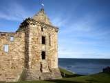 St Andrews Castle, St Andrews, Fife, Scotland Photographic Print by Mark Sunderland