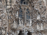 Sagrada Familia Cathedral by Gaudi, UNESCO World Heritage Site, Barcelona, Catalunya, Spain Photographic Print by Nico Tondini