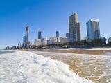Surfers Paradise Beach and High Rise Buildings, the Gold Coast, Queensland, Australia, Pacific Reproduction photographique par Matthew Williams-Ellis