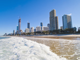 Surfers Paradise Beach and High Rise Buildings, the Gold Coast, Queensland, Australia, Pacific Photographic Print by Matthew Williams-Ellis