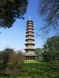 Japanese Pagoda, Royal Botanic Gardens, Kew, UNESCO World Heritage Site, London, England, UK Photographic Print by Peter Barritt