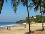 Lighthouse Beach, Kovalam, Kerala, India, Asia Photographic Print by Stuart Black
