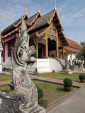 Wat Phra Singh, Buddhist Temple, Chiang Mai, Thailand, Southeast Asia, Asia Photographic Print by Antonio Busiello