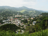 View of Kandy from Lookout, Kandy, Sri Lanka, Asia Photographic Print by Jochen Schlenker