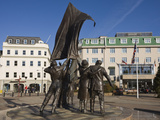 Liberation Monument, St. Helier, Jersey, Channel Islands, United Kingdom, Europe Photographic Print by Jean Brooks