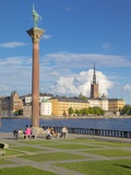 City Skyline from City Hall, Stockholm, Sweden, Scandinavia, Europe Photographic Print by Frank Fell