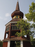 The Hasjo Belfry, Skansen, Stockholm, Sweden, Scandinavia, Europe Photographic Print by Rolf Richardson