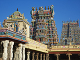 Sri Meenakshi Temple, Madurai, Tamil Nadu, India, Asia Photographic Print by  Tuul