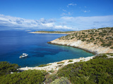Natural Swimming Pool, Donoussa, Cyclades, Aegean, Greek Islands, Greece, Europe Photographic Print by  Tuul