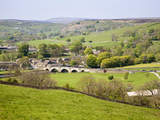 Village of Burnsall in Wharfedale, Yorkshire Dales, Yorkshire, England, United Kingdom, Europe Photographic Print by Mark Sunderland