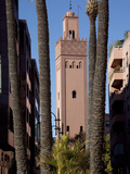 Minaret, Place du 16 Novembre, Marrakesh, Morocco, North Africa, Africa Photographic Print by Frank Fell