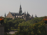 Nordiska Museum from Skansen, Stockholm, Sweden, Scandinavia, Europe Photographic Print by Rolf Richardson