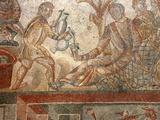 Mosaic, Villa Romana del Tellaro, Noto, Sicily, Italy, Europe Photographic Print by Vincenzo Lombardo