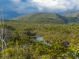 Landscape Near Waterfalls Chutes de La Madeleine, Grande Terre, New Caledonia, Melanesia Photographic Print by Michael Runkel