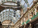 The County Arcade in the Victoria Quarter, Leeds, West Yorkshire, Yorkshire, England, UK, Europe Photographic Print by Mark Sunderland