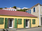 Back Street in Charlotte Amalie, St. Thomas Island, U.S. Virgin Islands, West Indies, Caribbean Photographic Print by Richard Cummins