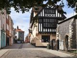 Pottergate, a Pedestrian Street in Norwich, Norfolk, England, United Kingdom, Europe Photographic Print by Mark Sunderland