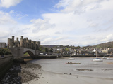 Conwy Castle, UNESCO World Heritage Site, Conwy, North Wales, Wales, United Kingdom, Europe Photographic Print by Wendy Connett