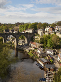 Viaduct and River Nidd at Knaresborough, North Yorkshire, England Photographic Print by Mark Sunderland