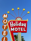 Motel Sign, the Strip, Las Vegas, Nevada, United States of America, North America Photographic Print by Gavin Hellier
