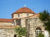 Panagia Ekatontapiliani, Byzantine Church, Hora (Chora) Parikia, Paros, Cyclades, Greece Photographic Print by  Tuul