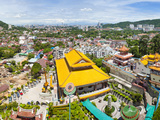 View over George Town from Kek Lok Si Temple, Penang, Malaysia, Southeast Asia, Asia Photographic Print by Matthew Williams-Ellis