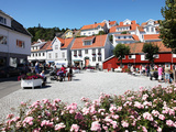 Town Centre, Kragero, Telemark, South Norway, Norway, Scandinavia, Europe Photographic Print by David Lomax