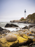 Portland Head Lighthouse, Portland, Maine,New England, United States of America, North America Photographic Print by Alan Copson