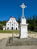 The Christian Church of Vao, Ile Des Pins, New Caledonia, Melanesia, South Pacific, Pacific Photographic Print by Michael Runkel